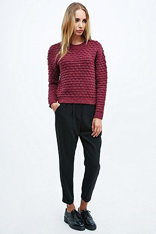 Cooperative Bubble Stich Jumper - Urban Outfitters