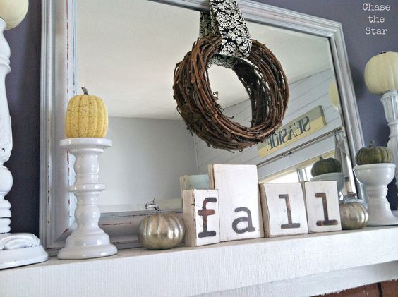 """""""fall"""" letters"""