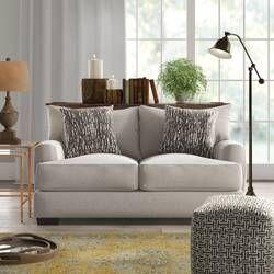 Kendall Sofa Reviews Birch Lane Love Seat Furniture Rolled Arm Sofa