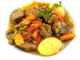 Lomo de cerdo con verdura