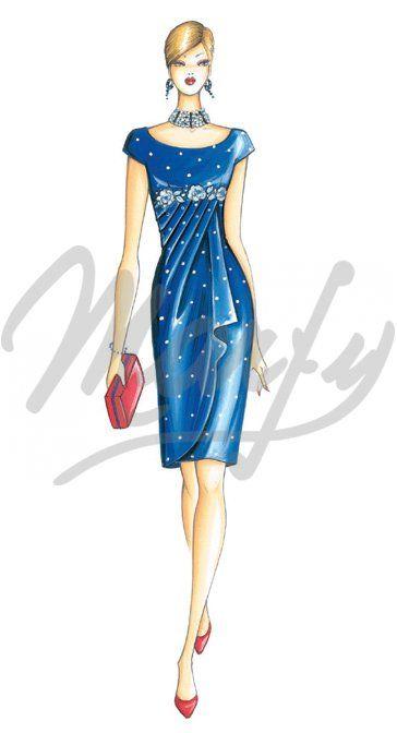 Sewing pattern Dress 3167: