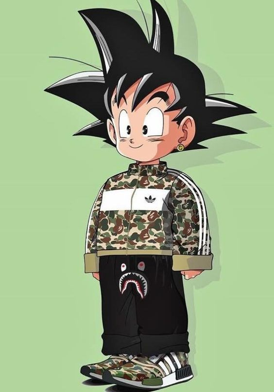 Here S A Gallery Of Anime Characters Wearing High End Streetwear Anime Wallpaper Anime Dragon Ball Artwork