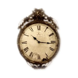 Vintage clock. What's not to love?