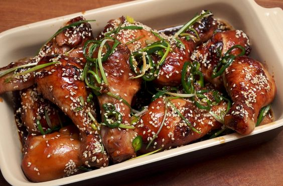 Sticky Chicken Drumsticks We love Tom Kerridge's food but find his recipes can require a lot of work. Not so with these sticky drumsticks but you will need to find some malt extract to go in the marinade. We got ours in a g...