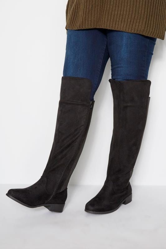 Knee High Boots For Large Calves Uk in