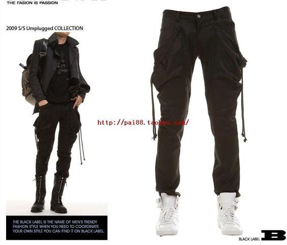 30 43 ! Herrenbekleidung boot cut Jeans Hosen plus Größe beiläufige Haremhosen Hosen Gezeitenstrom männlichen Hose Bühne Kostüme in  aus Casual Pants auf AliExpress.com   Alibaba Group