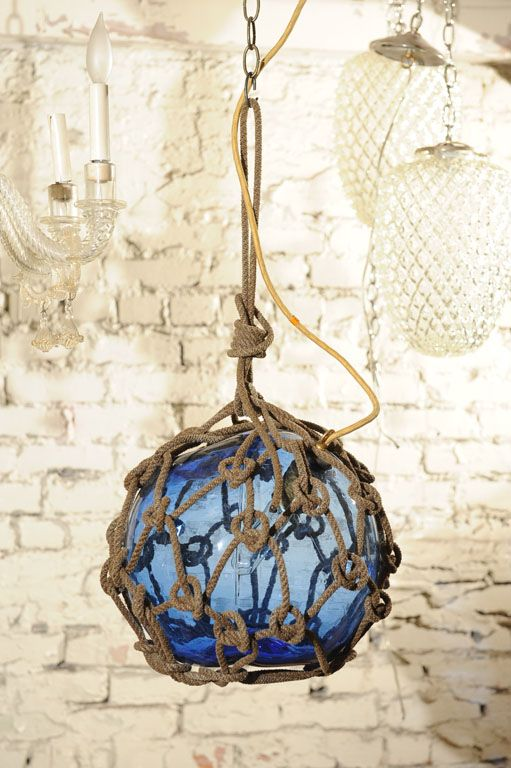 antique japanese fishing float pendant light | lighting, pendants, Reel Combo