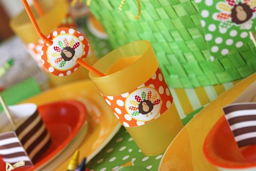 Thanksgiving Kids' Table Printables
