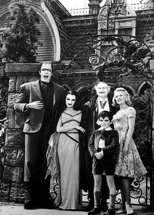 The Munsters.....Well really, they are episodes, but they are still good!  Herman is my favorite. :)