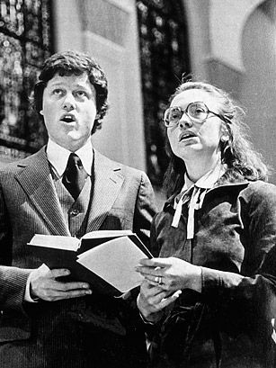 Bill Clinton and Hillary Rodham - Top 10 American Political ...