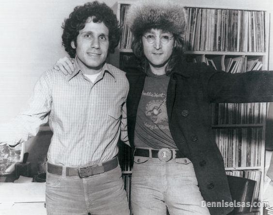 Dennis Elsas with John Lennon. What began as an opportunity to promote the new album, turned into two hours of rare Beatle stories, insights into his immigration struggles, and John as the DJ, introducing and commenting on all the music, commercials and weather.  Highlights from the interview were used in the Beatles Anthology and it is featured prominently in the award winning PBS American Masters film, LENNONYC.  The complete show is part of the permanent collection of the Paley Center For…