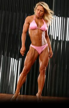 Monica Brandt - Best Female body builder ever | The ideal body after