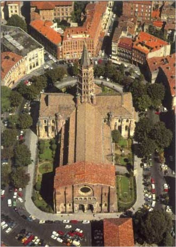 Image gallery saint sernin cathedral for Architecture toulouse
