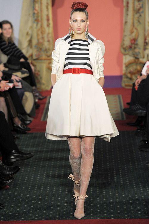 Georgina Stojilijkovic at Christian Lacroix Spring 2009 Couture