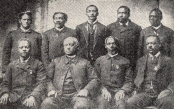 Founding members of Edward Waters College Board of Trustees (Jacksonville, FL). Reclaiming History: on the founding of Ancestors unKnown