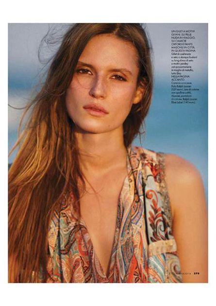 Cate Underwood (@ Star System Kiev / Monster) for Elle Italia April'14