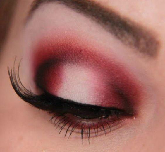 Red Smokey   Smokey Eye Night Out Makeup Tutorials
