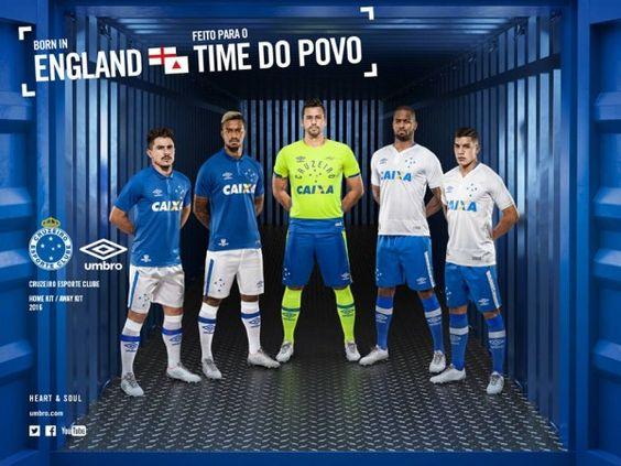 Camisas Umbro do Cruzeiro