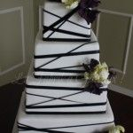 Rubans, pivoines et tulipes    Gâteau de mariage | wedding cake  La Fabrik à Gâteaux !