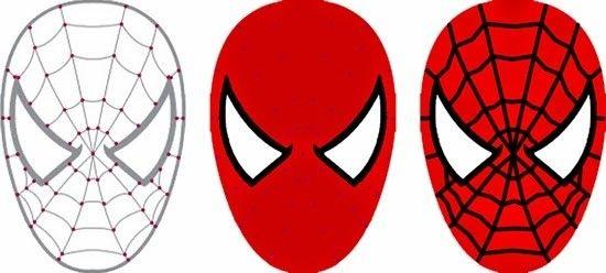 Coloriage Tete De Spiderman A Imprimer Spiderman Birthday Spiderman Cake Spiderman Birthday Cake