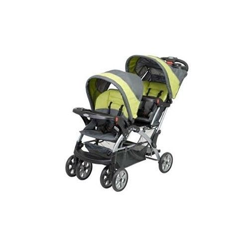 Description  Double Stroller  Give your baby a comfortable ride and turn walking time into bonding time with the Baby Trend Sit N Stand Double Stroller, Carbon. It features front and back seats, so you can conveniently take two kids out in this...  #babystroller #doublestroller #babygift #babyshower #giftideas