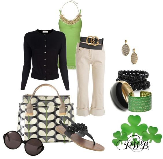 """ST PATRICK'S DAY .......GREEN"" by pamela-barrett-williamson on Polyvore"