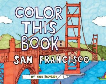Color This Book: San Fransisco