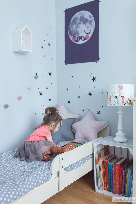 scandinavian room, design, kids design, kids room, girl's room,