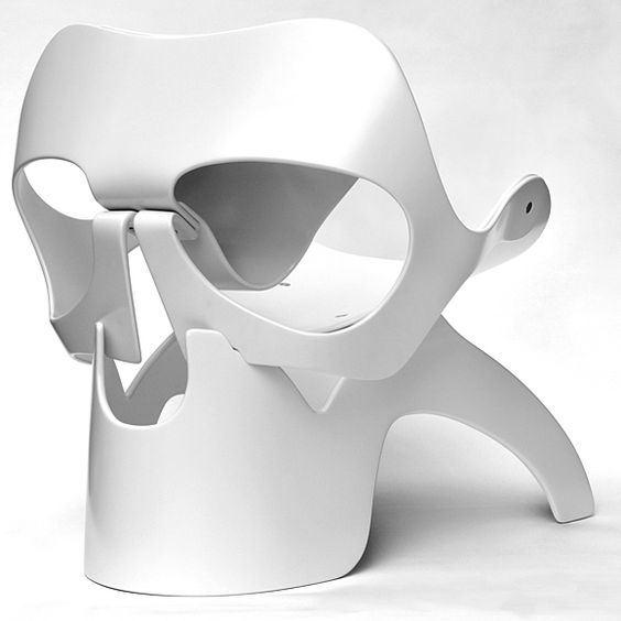 Adirondack Skull Chair
