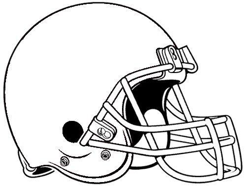 Football Helmet Template 7 500 X 377 Football Helmets