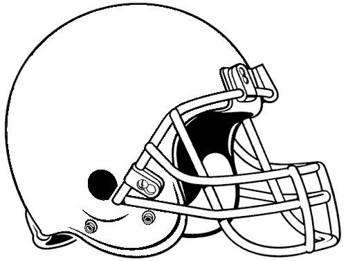 Football Helmet Template 7 500 X 377 Football Helmets Team Mascots Free Clip Art