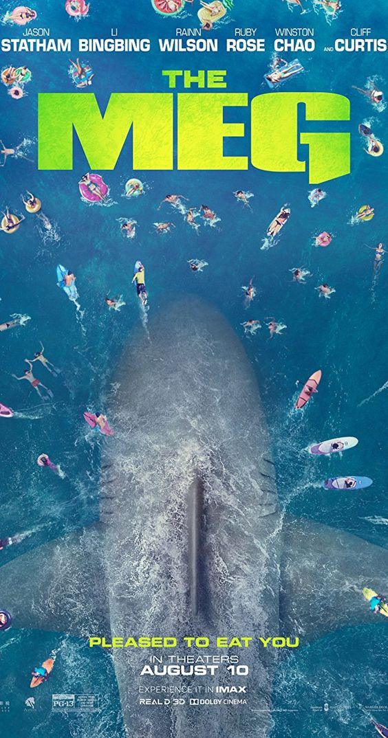 The Meg 2018 Sub Indo : Rainn, Wilson,, Creature, Feature,, Jason, Statham