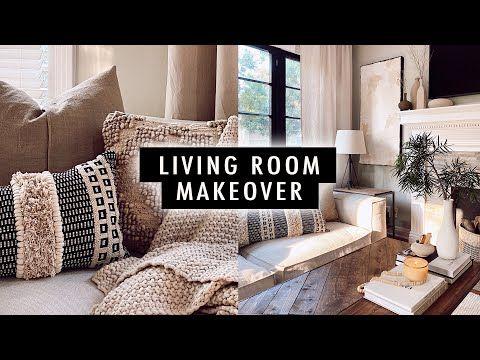 Extreme Living Room Makeover Diy Home Decor Xo Macenna Youtube Living Room Makeover Room Makeover Diy Room Decor