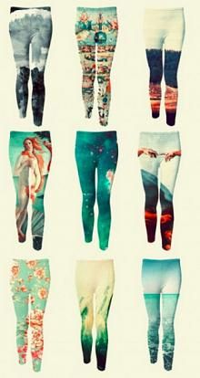 To Wear Asap Leggins Fashion