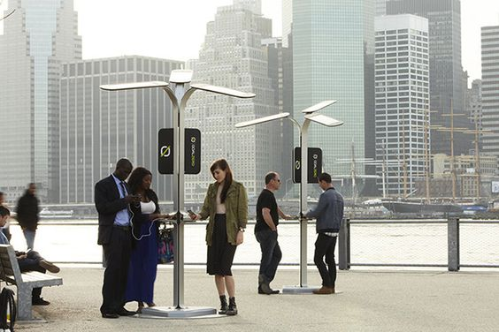 NYC To Install Free Phone Charging Stations | HUH.