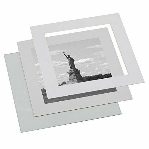 Upgraded Tempered Glass 11x11 Square Picture Frame Black Mat 8x8 Wood Instagram Fashion Home G Instagram Photo Frame Frame
