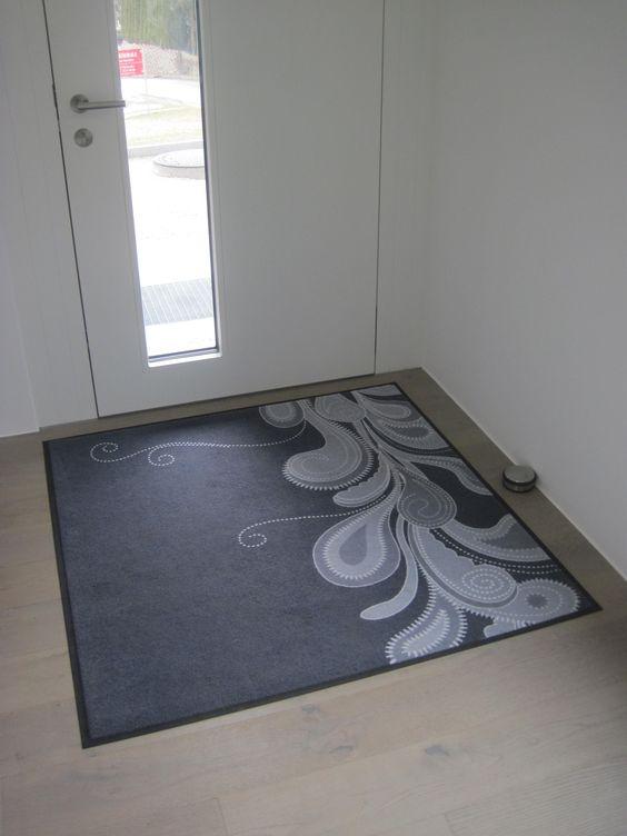 Fußmatte mit einem Muster von Pattern Design.