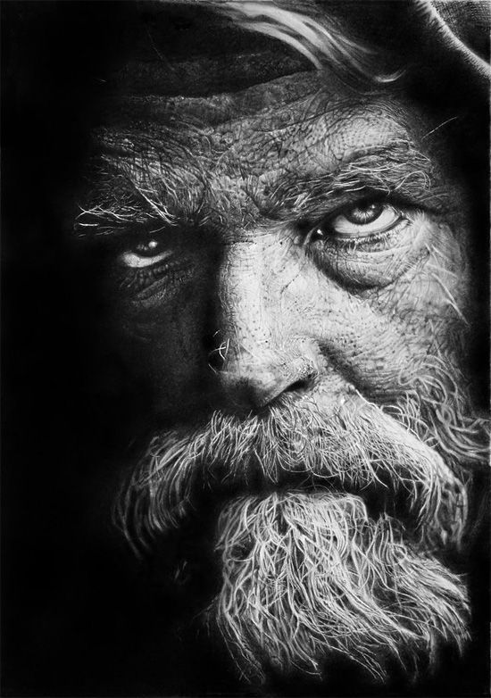 HyperRealistic Pencil Drawings By Franco Clun Realistic Pencil - Artist uses pencils to create striking hyper realistic portraits