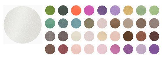 EYESHADOW Sombra de alta pigmentação. Fixação testada até 12 horas.