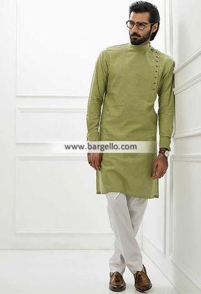 Kurta Men/'s Pakistani,Indian,Designer Multi Check Small