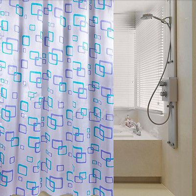 Shower Curtain Bathroom Waterproof Polyester Fabric Random Pattern & Hooks PO https://t.co/IRfVnRpCEJ https://t.co/vqO01wbfPX