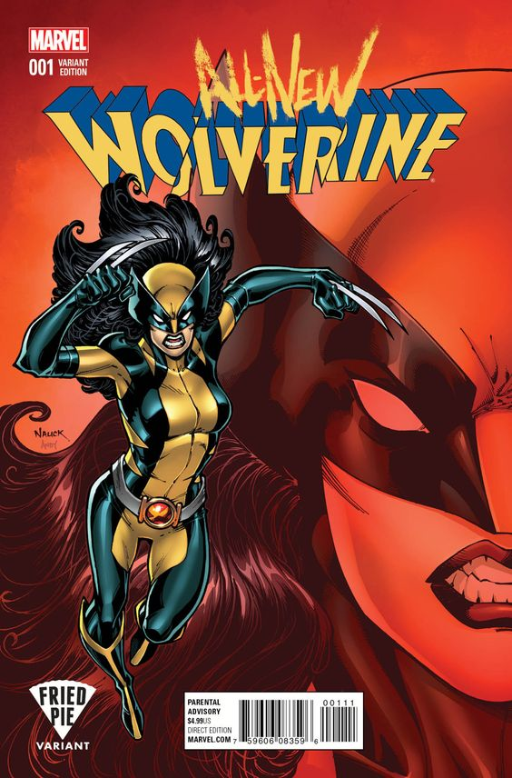 All-New Wolverine #1  Publisher: Marvel Release Date: 11/11/15 Cover Artist: Todd Nauck