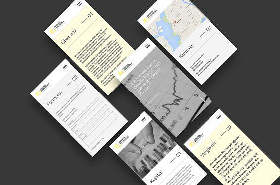 Friends Financials - Webdesign on Behance