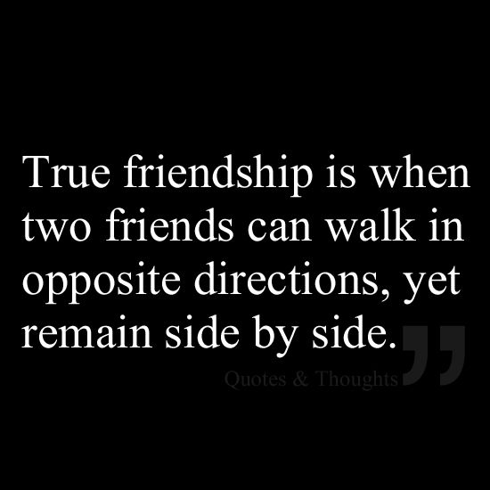 Quotes On Wah A True Friend Is: True Friendships, Side By Side And Friendship On Pinterest