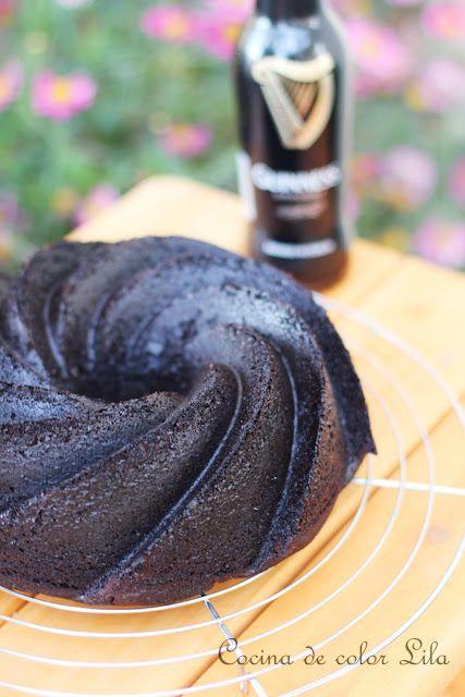 Cocina de color Lila: Chocolate guiness bundt cake