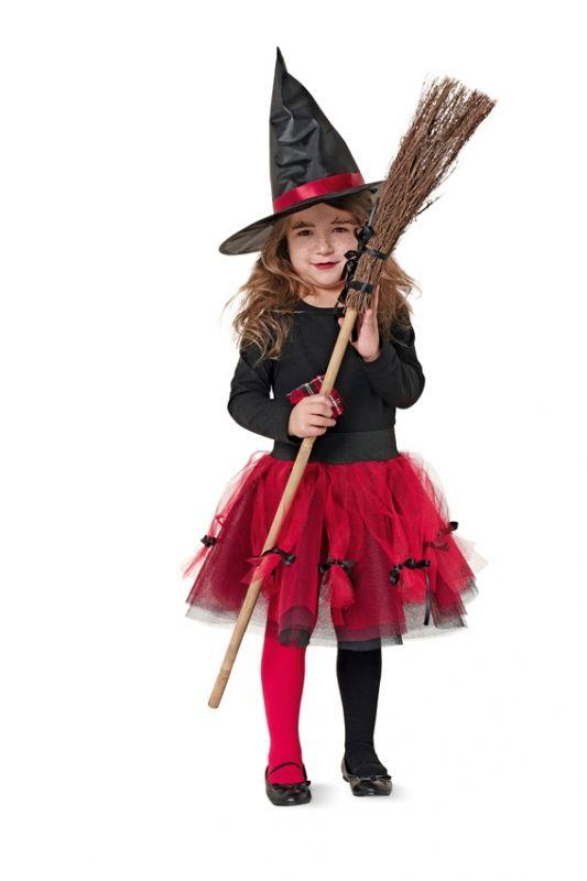 Filles Citrouille Sorcière Costume Enfant Robe de Fantaisie Halloween Costume