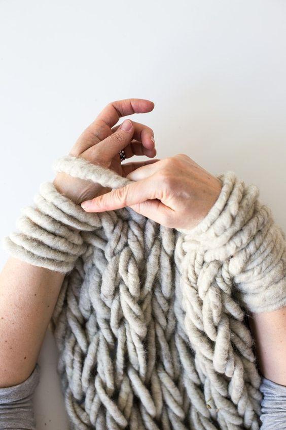 6 ways to Make Arm Knitting Tighter