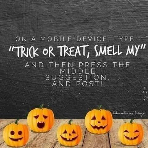 Social Media Halloween 2020 Trick or Treat? Social Media Engagement Post #halloween #pumpkin