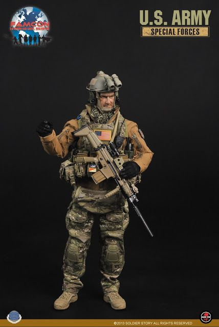 onesixthscalepictures: Soldier Story US Army Special Forces (FAMCOM Exclusive) : Latest product news for 1/6 scale figures (12 inch collecti...
