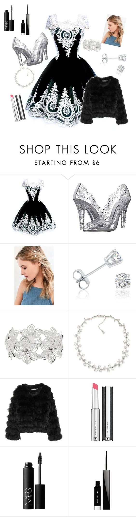 """""""Wedding ceremony"""" by yassyyess ❤ liked on Polyvore featuring Dolce&Gabbana, Urban Outfitters, Amanda Rose Collection, M&Co, Carolee, Alice + Olivia, Givenchy and NARS Cosmetics"""